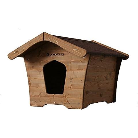Cuccia di legno per Cani taglia Piccola in legno Resistente, Atossica, No spigoli, da esterni