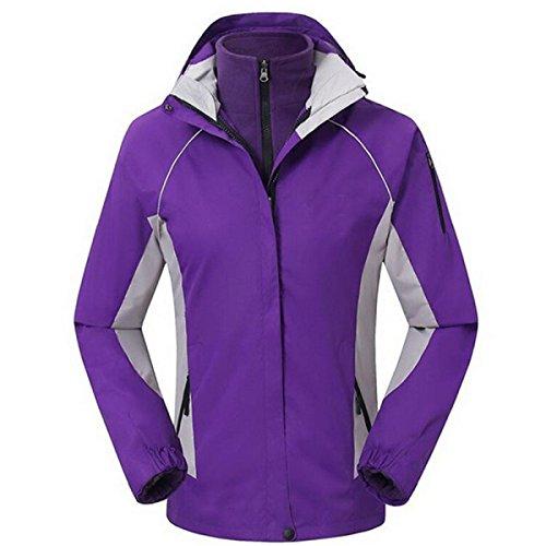 Hiver Femme Vestes Imperméables purple