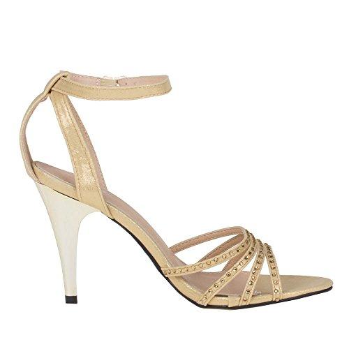 9422 SANDALETTEN Gold GL 9422 GL Damen Damen SANDALETTEN Schuhe Gold 9422 GL Schuhe Damen Schuhe OPqOAS