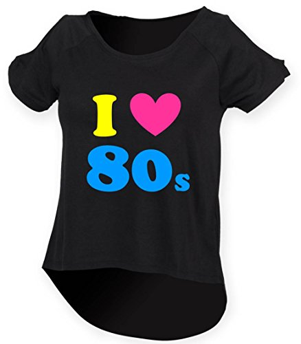 I Love the 80s Women's Drop Tail Shirt