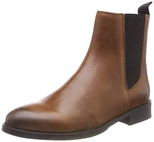 Hilfiger Denim Damen Basic Classic Chelsea Boots, Braun (Winter Cognac 906), 41 EU