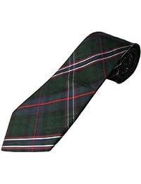 National en soie Embrasses Motif Tartan écossais