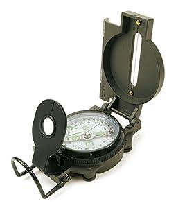 Desconocido Klein 10356  - Lensatic Compás, Brújula de Metal de 6 cm