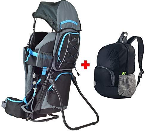 Ultrapower Kindertrage | Wandern | Reise | Tragerucksack | Kinderkraxe | Babytragerucksack | Rückentrage | Baby-Carrier | Wombat Comfort