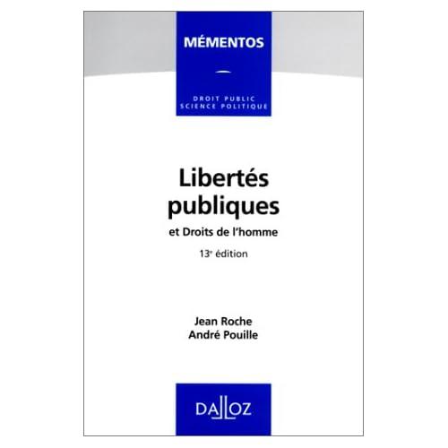 Libertés publiques, et, Droits de l'homme
