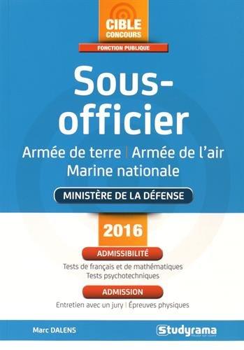 Sous-officier : Armée de terre, air, mer