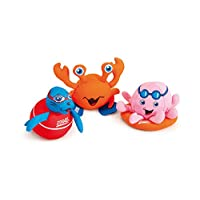 Zoggs Kids Soaker Pool & Bath Toys, Safe for Above 3 Months