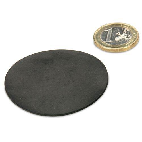 Gummi-Scheibe Ø 50 mm selbstklebend, Schutz von Oberflächen