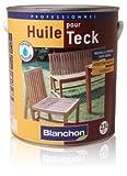 1 litre - Huile pour teck aspect mat naturel sans odeur phase acqueuse 1 litre