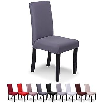 6 x housse de chaise sinderay universelle extensible pour - Housse chaise haute universelle ...