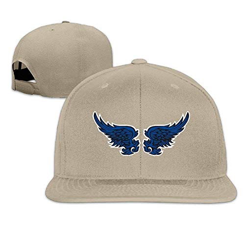 gthytjhv Unisex Thin Blue Line Angel Wings Flat Along Baseball Caps Hip Hop Djustable Spback Forest Comfortable
