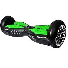 """Idea Regalo - Kawasaki Electric Hoverboard 10"""" nero"""