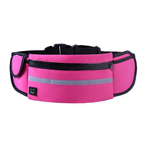Multifunktionale Outdoor Fitness Sporttaschen Mehrfarbig Pink