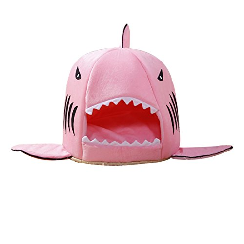pet-products-warm-soft-pet-house-sleeping-bag-shark-dog-kennel-cat-bed-cat-house-pink-l