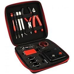 Coil Master, DIYV3,kit di attrezzi, con dima (V4), tester MINI Tab, pinzette, cavo resistente al calore
