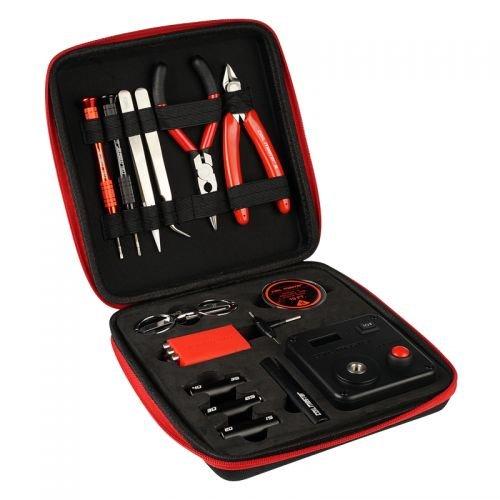 Coil Master DIYV3Wickelzubehör-Set, V3Werkzeug-Set mit Wickelhilfe (V4)/521Tab Mini-Ohm-Messgerät/Pinzette/Hitzebeständigem Draht -