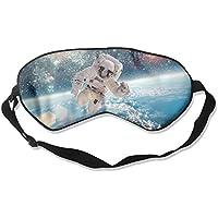 Eye Mask Eyeshade Astronaut in Space Sleep Mask Blindfold Eyepatch Adjustable Head Strap preisvergleich bei billige-tabletten.eu
