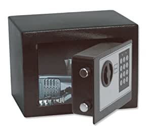 Phoenix 701BEB Compact Safe Home or Office Electronic Lock 4L Capacity 5kg W230xD170xH170mm Ref 0701BEB