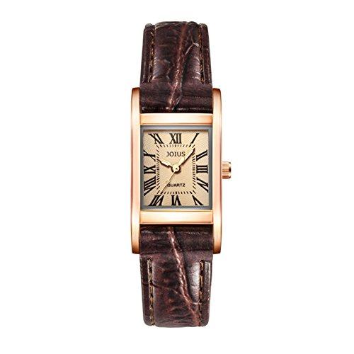 Orologio femminile retrò Piazza/Guarda gli amanti della moda studente/Lista dei orologio al quarzo da polso neutro-C