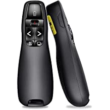 BEBONCOOL Professional Presenter schnurlos, 2.4GHz Wireless Presenter Presentation Remote PowerPoint Fernbedienung Präsentation Clicker Pointer für PPT/Keynote/Prezi/OpenOffice/Windows/Mac OS/Linux