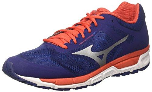 Mizuno synchro mx, scarpe da ginnastica uomo, blu depths/fiesta/imperial blue, 43 eu