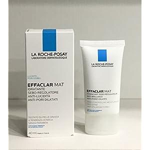 La Roche Posay – Effaclar Mat – Hidratante antibrillos, antiporos dilatados, 40ml