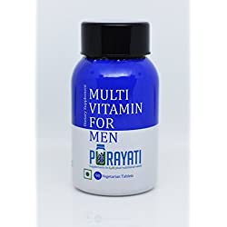 Purayati Multivitamin Dietary Supplement for Men's - 90 Tablets