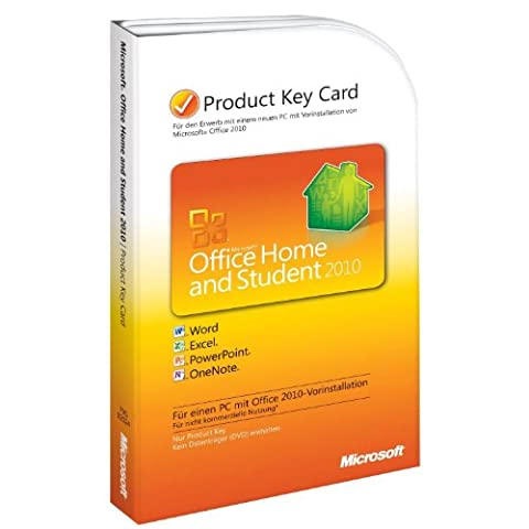 Microsoft Office Home and Student 2010 - 1PC/1User (Product Key
