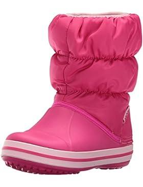 Crocs Winter Puff Boot Kid, Botines Unisex Niños