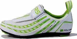 Polaris Equilibrium Cycling Shoes White/Green UK Size 10