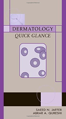 Dermatology: Quick Glance 1st Edition by Jaffer, Saeed, Qureshi, Abrar (2003) Paperback