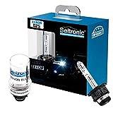Seitronic 2X D2S Xenon Brenner Sky Blue 8000K Xenon Birne Lampe E4 Prüfzeichen 8000 Kelvin Entladungslampe Ersatzlampe Autolampe D2S Sky Blue 8000K