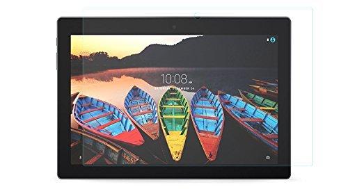 ELTD Lenovo TAB3 10 Plus Displayschutz, Glas Folie Schutzfolie Glas Panzerfolie Displayschutzfolie, Klar Anti-Kratz,9H Hardness aus