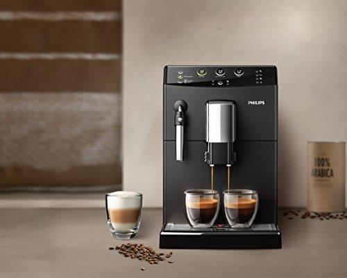 Philips 3000 Serie HD8827/01 Kaffeevollautomat (1850 W, klassischer Milchaufschäumer) schwarz - 7
