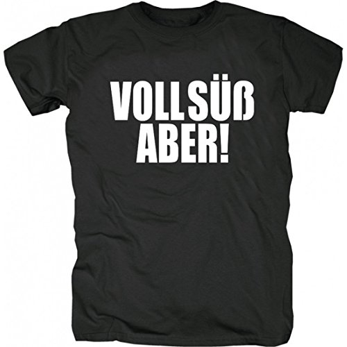 Ali (Bushido) - Voll Süß Aber! T-Shirt schwarz_L (T-shirt Voll)