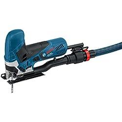 Bosch Professional GST 90 E Stichsäge mit 1 Sägeblatt, max. 90 mm Schnitttiefe, 650 W, Koffer