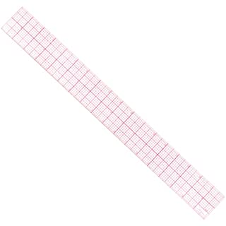 AngelaKerry 1pcs Plastic 18inch ruler Fashion Sewing Ruler Set Vary Form French Curve with PGM Pattern Grading Rulers(model£ºB85)