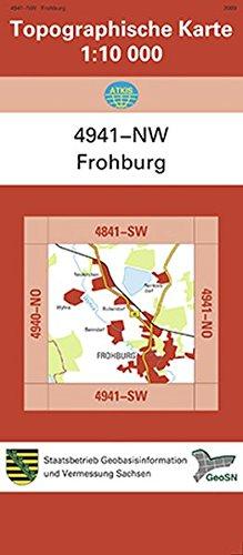 Frohburg (4941-NW): Topographische Karte 1:10 000 (Topographische Karten Sachsen 1:10 000 (TK 10); amtlich)