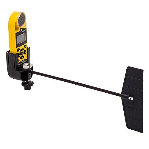 Kestrel Rotating Vane Mount - Accesorio para Mochilas, Color Negro