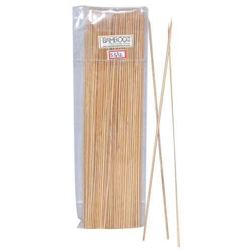 Bamboooz Bamboo Skewers 12 Inch(100 Nos.)
