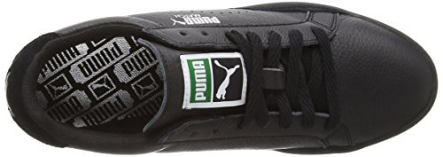 Puma - Match Lo Basic Sports WnS, Sneakers da donna Nero (Schwarz (black-black 10))