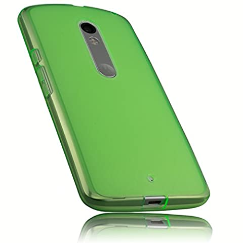 mumbi Schutzhülle Motorola Moto X Play Hülle grün