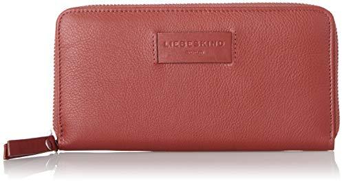 cd9216a201 Liebeskind Berlin Damen Essential Sally Wallet Large Geldbörse, Rot  (Italian Red), 2x9x19