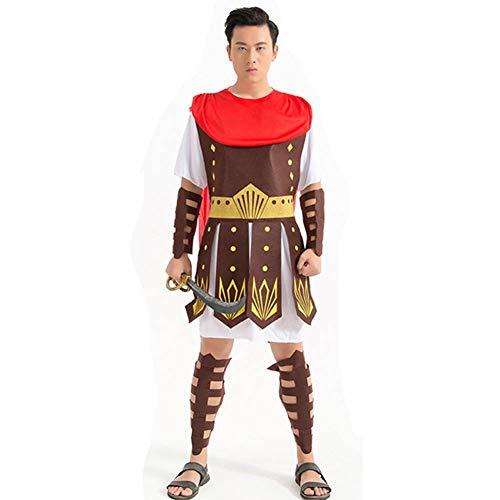 Halloween Samurai Kostüm - GUAN Halloween Ball Kostüme Gladiator Roman Warrior Stage Performance Samurai Kostüm Roman Female Warrior