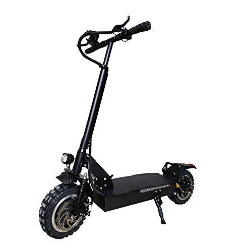 Scooter- eléctrica 23.4Ah 60V 1600W plegable Scooter eléctrico Velocidad máxima 60 kmh Max.200kg solo motor de la rueda delantera del...