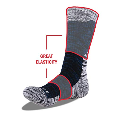 41WMGgGeY1L. SS500  - YUEDGE Mens Socks Size 6-11 12 Cotton Rich Athletic Socks of Wicking Breathable Cushion Anti Blister for Outdoor Hiking