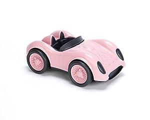 Green Toys- Auto de Carreras (Rosa), Multicolor (RACP-1480)