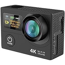 QANTIK Camera d'action 4K Etanche - Scope 170 - Noir