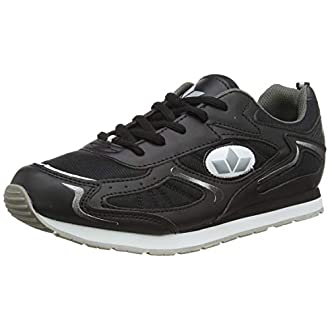 Lico Men's Nelson Fitness Shoes, Black (Schwarz/Grau Schwarz/Grau), 8 UK