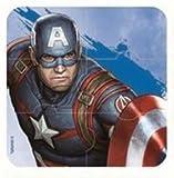 Marvel Puzzle Radiergummis Ironman Hulk Captain America Comics Superhelden Kinder Schule Schreibwaren Party Tüten Geschenk Füller (Captain America)